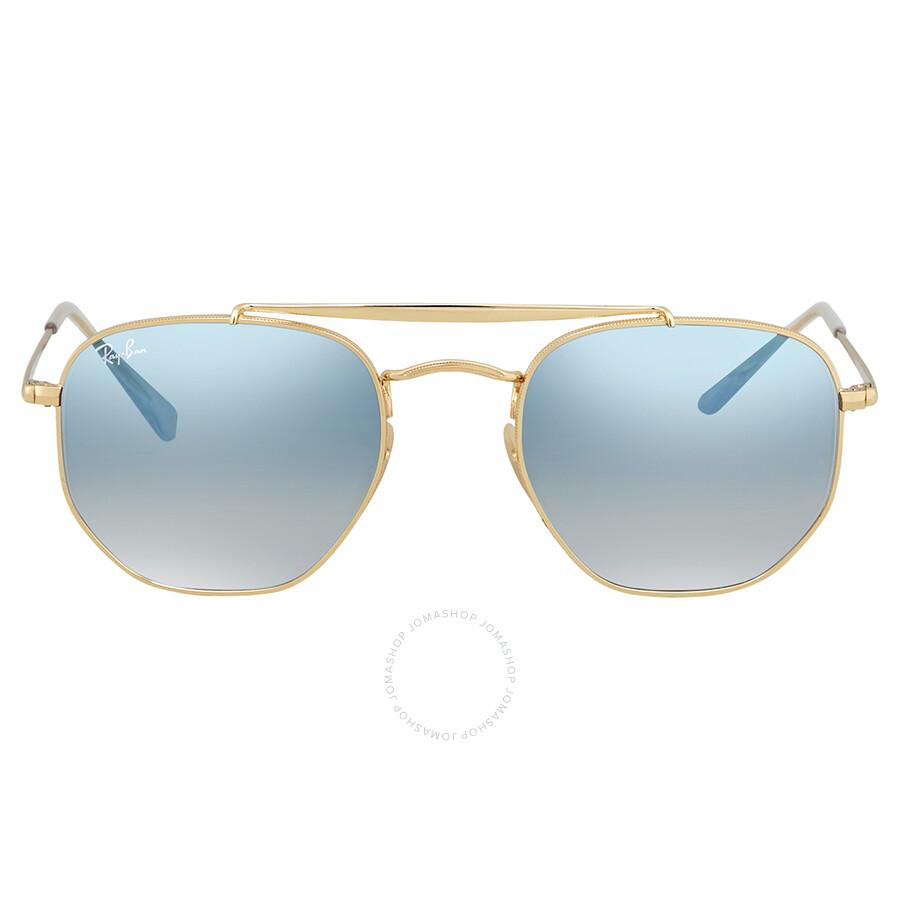 ddda5b8b94 ... Ray Ban Marshal Light Blue Gradient 51mm Sunglasses RB3648 001 3F 51 ...