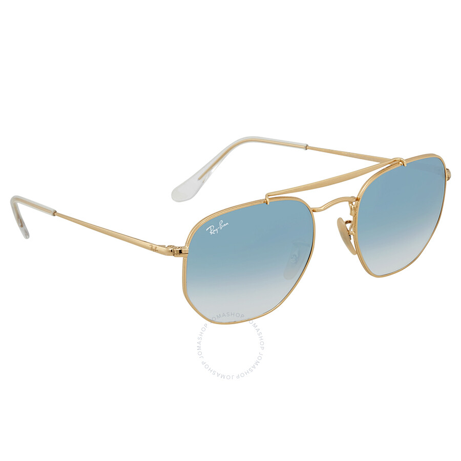 d6714351d6 Ray Ban Marshal Light Blue Gradient 54mm Sunglasses RB3648 001 3F 54 ...