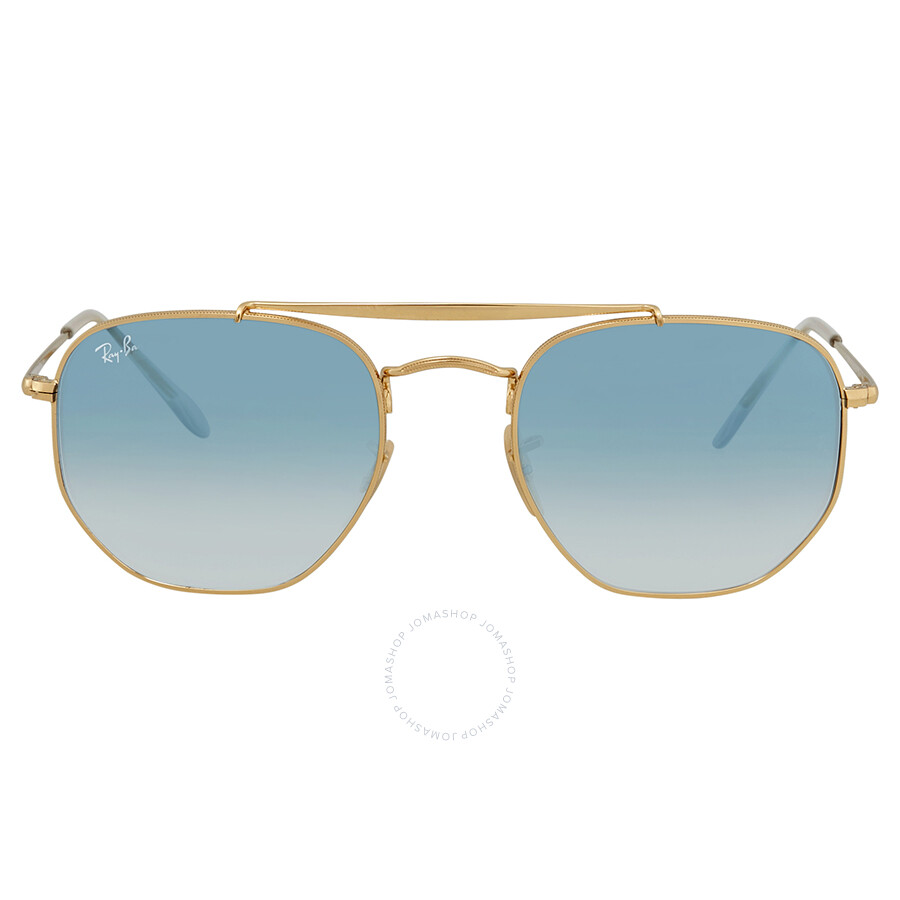 b59cac9665 ... Ray Ban Marshal Light Blue Gradient 54mm Sunglasses RB3648 001 3F 54 ...