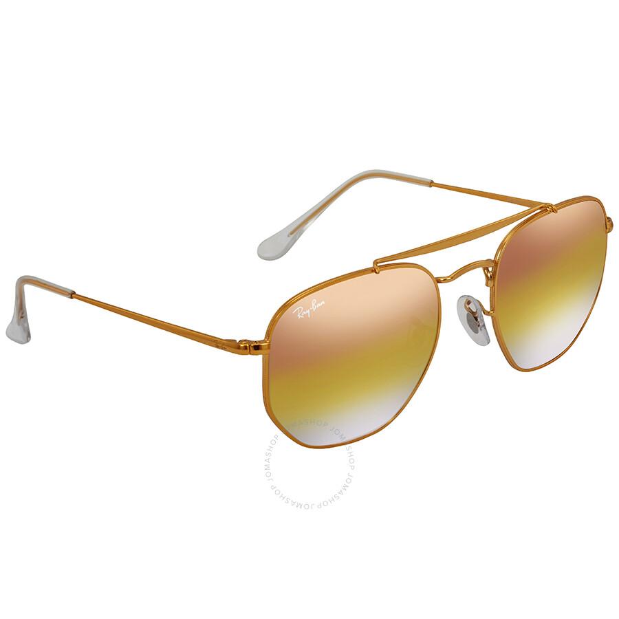 10b4565ba0 Ray Ban Marshal Pink Gradient Mirror 54 mm Sunglasses RB3648 9001I1 54 ...