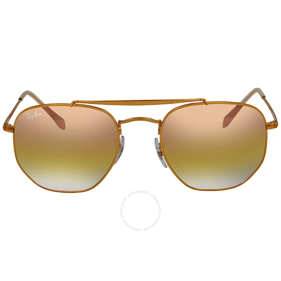 ... Ray Ban Marshal Pink Gradient Mirror 54 mm Sunglasses RB3648 9001I1 54  ... 0e9fe66a552