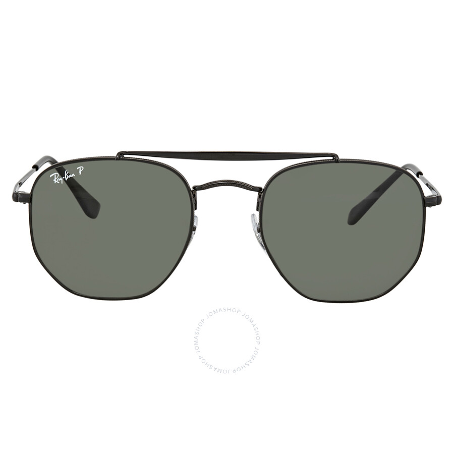 ba579826c63 ... Ray Ban Marshal Polarized Green Classic G-15 Sunglasses RB3648 002 58  51 ...