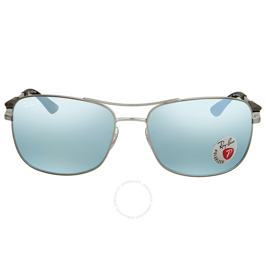fe1387fcd4f Ray Ban Mirror Silver Men s Sunglasses RB3515 004 Y4 61 - Ray-Ban ...