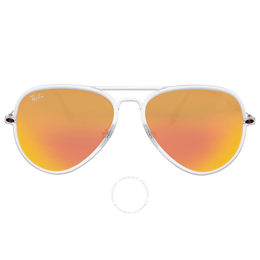 Ray Ban New Aviator Light Ray II Red Mirror Lenses 56 mm Sunglasses RB4211 -56-646-6Q Item No. RB4211 646 6Q 56-17 7ab1ef1304