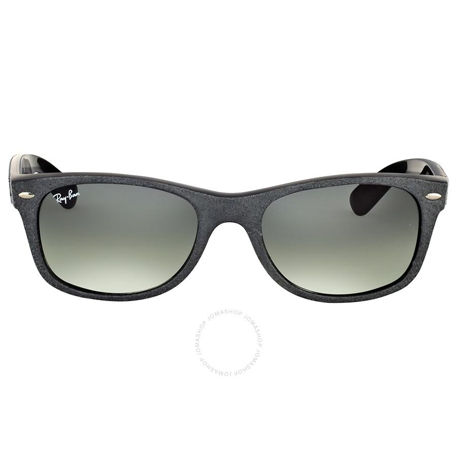 5119b42fa3c8f Ray-Ban New Wayfarer Alcantara Grey Gradient Sunglasses - Wayfarer ...