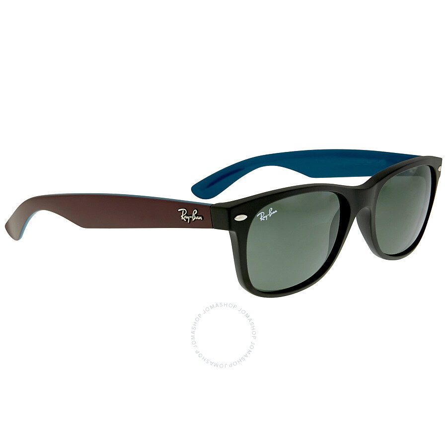 ... Ray Ban New Wayfarer Bicolor Sunglasses RB2132 6182 55 ...