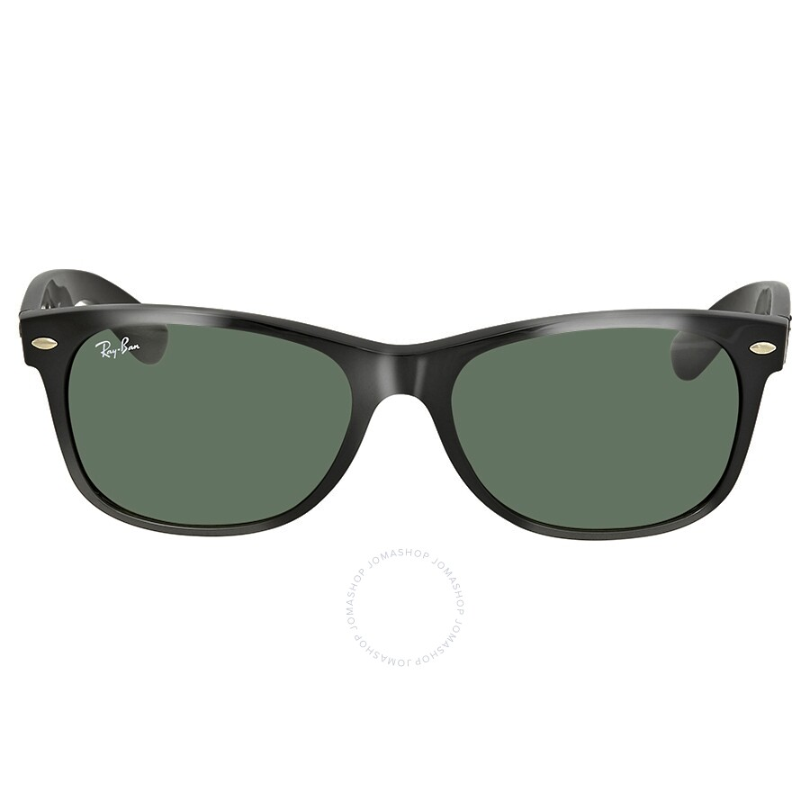 e0e86a50e0 ... Ray-Ban New Wayfarer Black 55mm Sunglasses RB2132 901L 55-18 ...