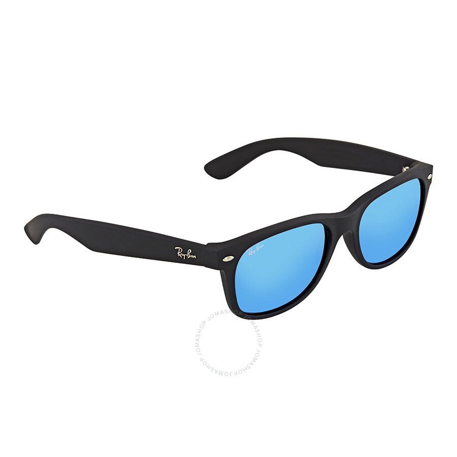 41b3a93784 Ray Ban New Wayfarer Blue Gradient Lens 55mm Men s Sunglasses RB2132 622 17  55- ...