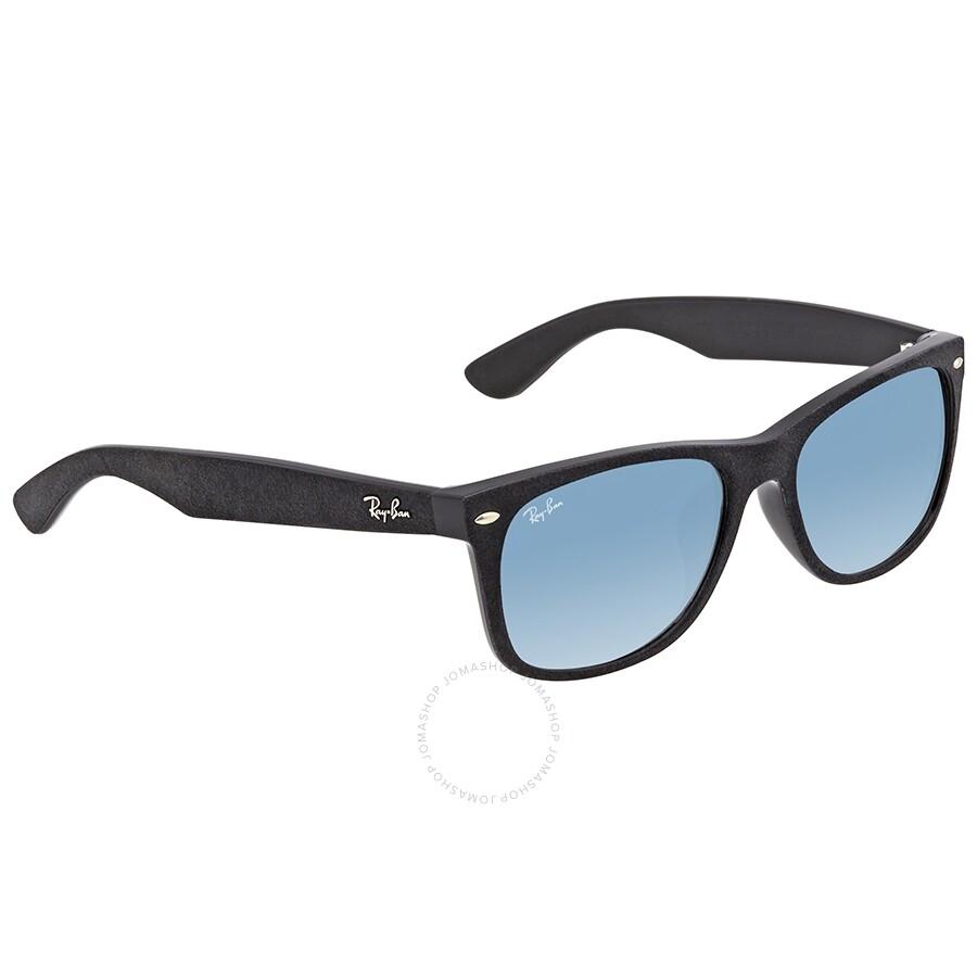 Ray Ban New Wayfarer Blue Men S Sunglasses Rb2132f 62423f 58