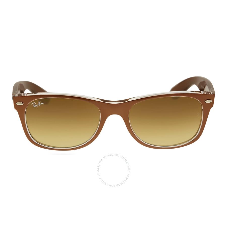 brown wayfarer sunglasses  raybannewwayfarerbrowngradientmenssunglasses