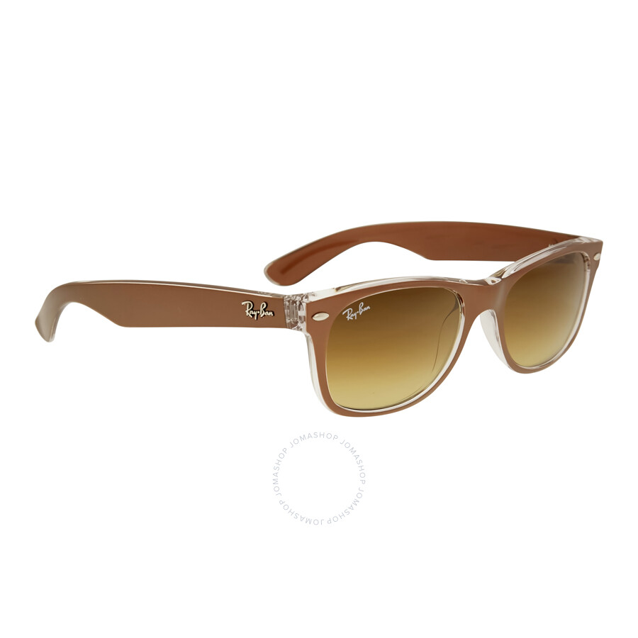 Mens Sunglasses Ray Ban  ray ban new wayfarer brown grant men s sunglasses rb2132 614585