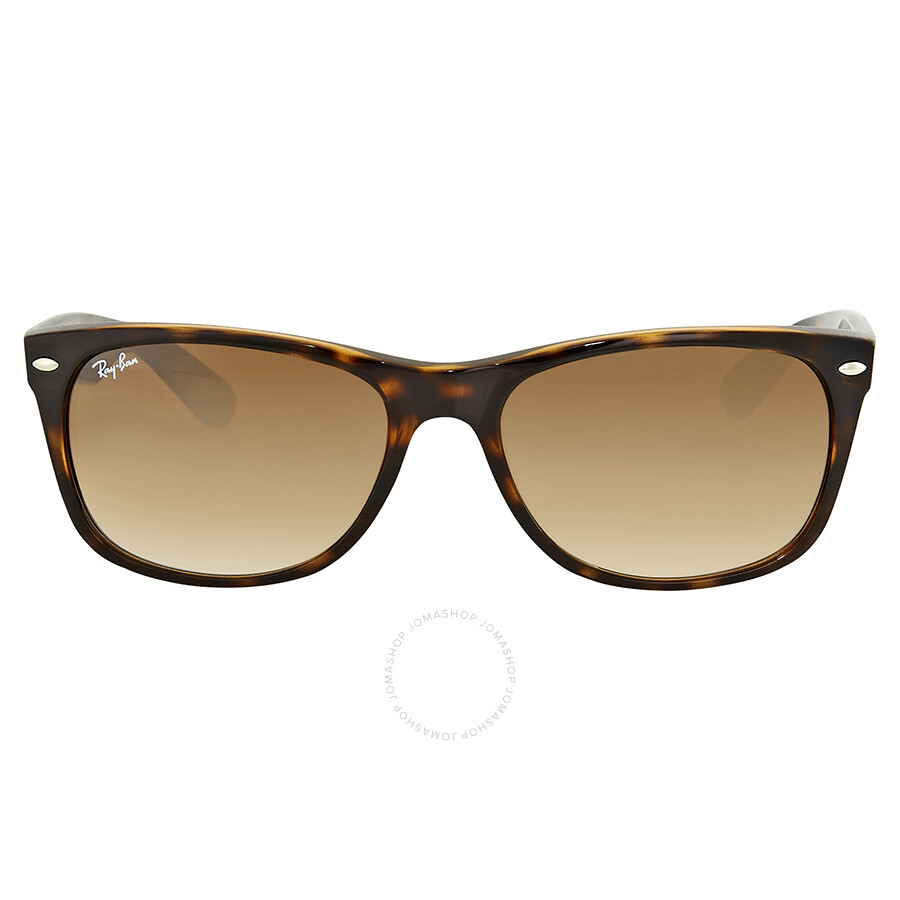 15baa317f81c9 Ray-Ban New Wayfarer Classic Light Brown Gradient Sunglasses ...