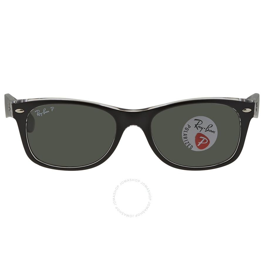 wayfarer classic ray ban  Ray Ban New Wayfarer Classic Polarized Green Sunglasses RB2132 ...