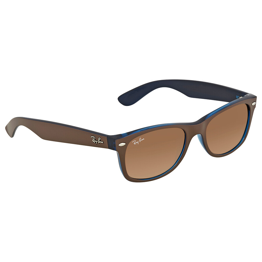 7b8328750bf10 Ray Ban New Wayfarer Color Mix Pink Brown Gradient Wayfarer Men s Sunglasses  RB2132 6310A5 52 ...