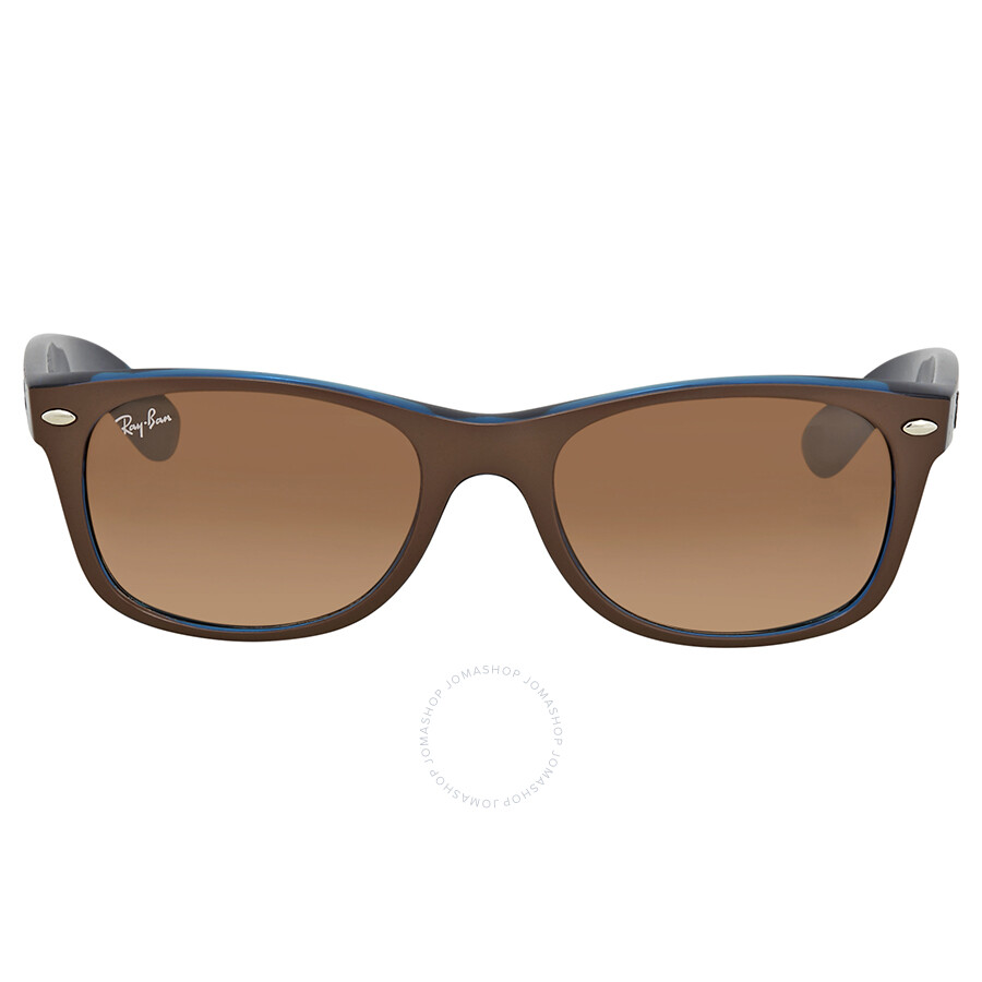 b0dda0e7b157 ... Ray Ban New Wayfarer Color Mix Pink/Brown Gradient Wayfarer Men's  Sunglasses RB2132 6310A5 52 ...