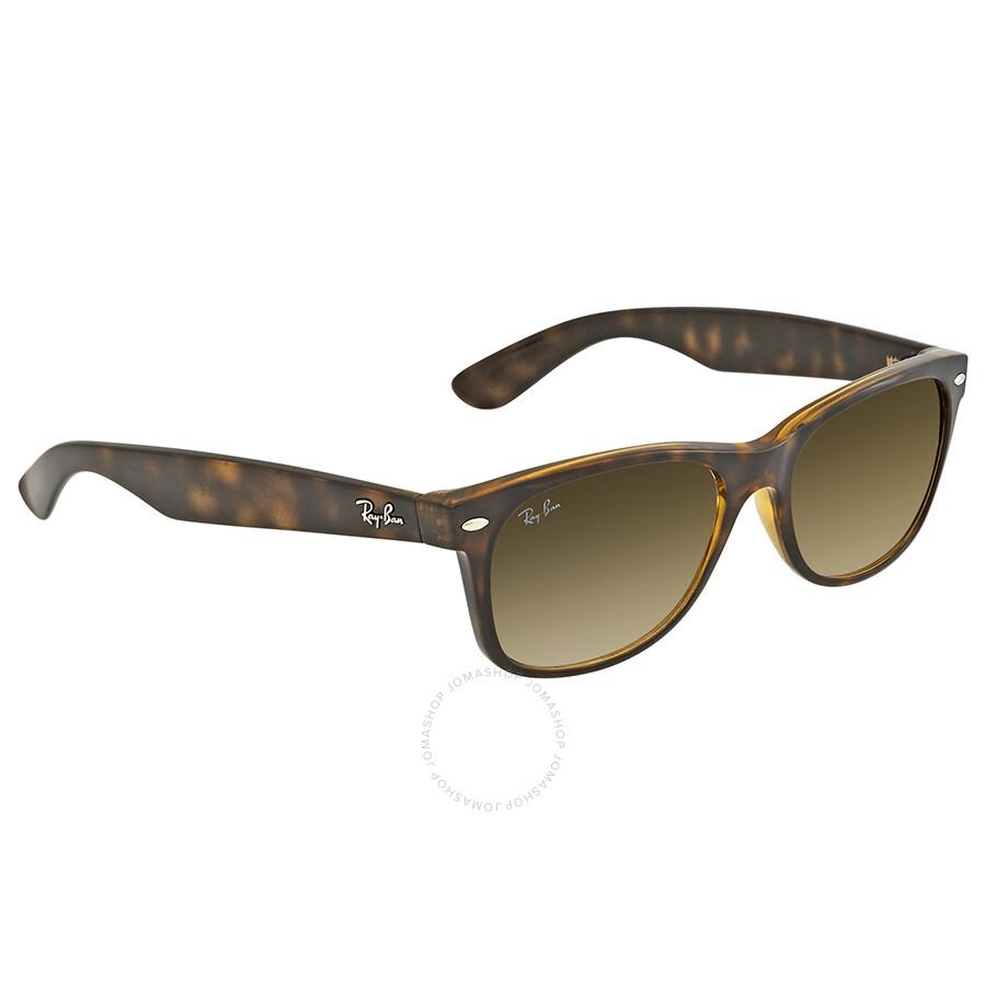 872100474a Ray Ban New Wayfarer Gold Sunglasses RB2132 710 51 55-16 - Wayfarer ...