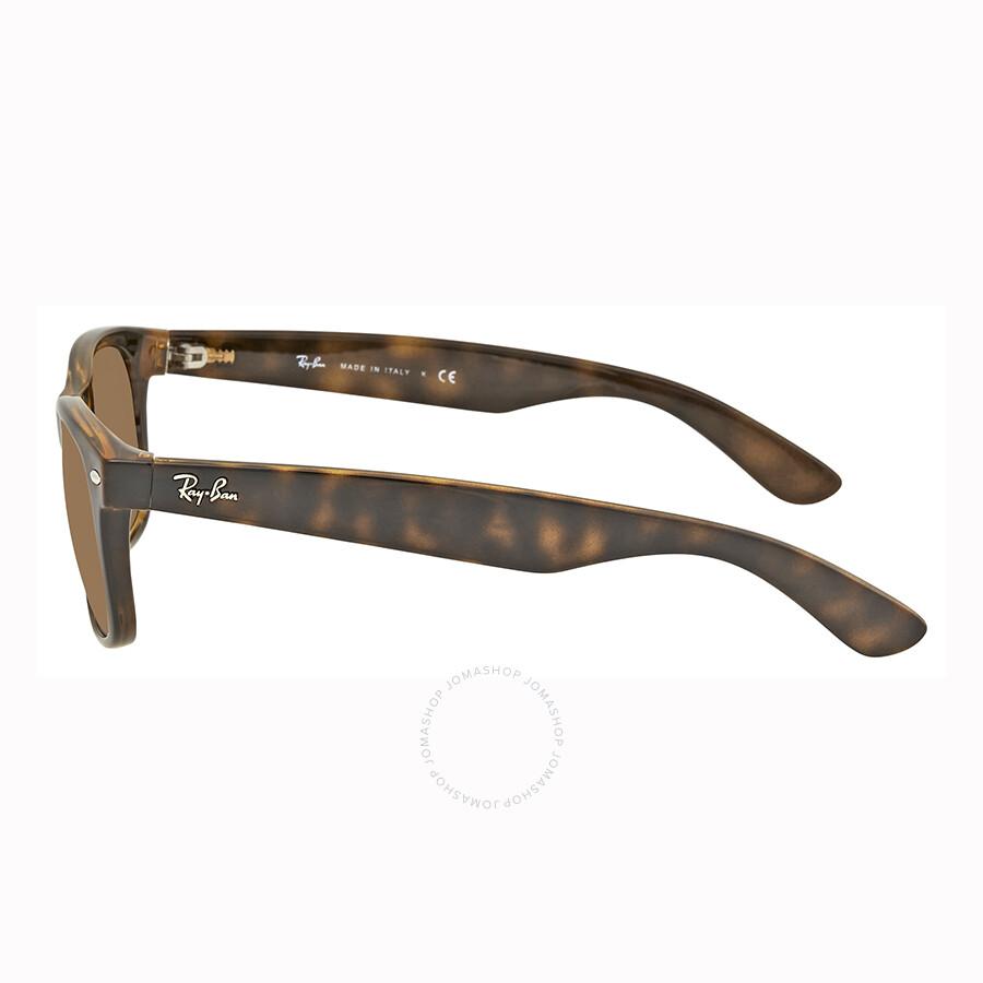2eee3e99d2336 Ray Ban New Wayfarer Gold Sunglasses RB2132 710 51 55-16 - Wayfarer ...