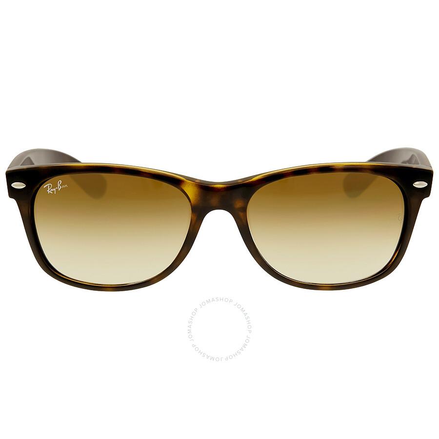 ray ban new wayfarer gold sunglasses rb2132 710 51 55 16. Black Bedroom Furniture Sets. Home Design Ideas