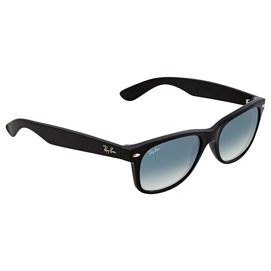 8d568c0acb Ray Ban New Wayfarer Gree-Clear Gradient Square Sunglasses RB2132 901/3A 55  ...