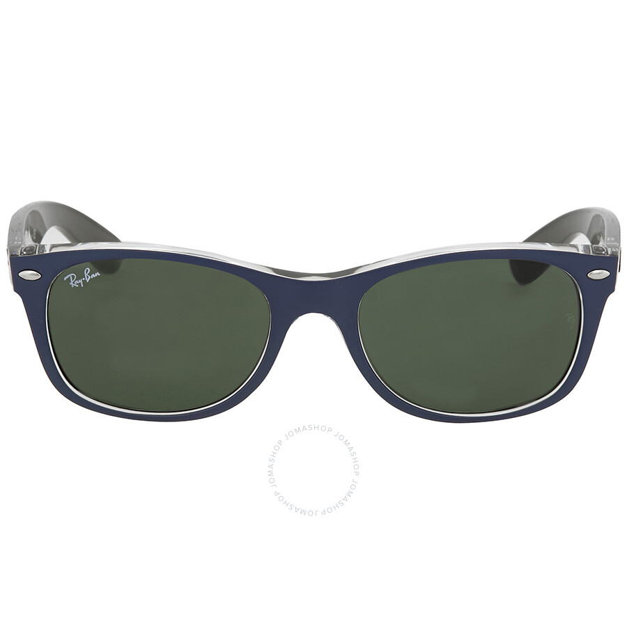 f41b5a6cf762b Ray Ban New Wayfarer Green Classic G-15 Men s Sunglasses RB2132 6188 52 ...