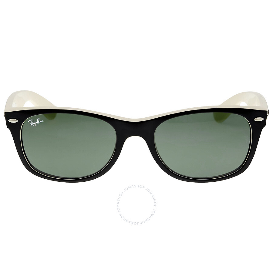 f0f262c7b99f3 Ray Ban New Wayfarer Green Classic G-15 Sunglasses RB2132 875 52-18 ...