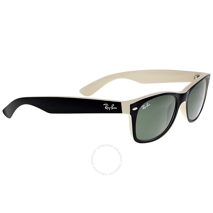 ffa1d1dd969 ... Ray Ban New Wayfarer Green Classic G-15 Sunglasses RB2132 875 52-18 ...