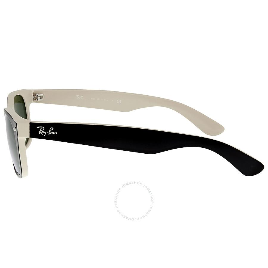 7d470002e9 Ray Ban New Wayfarer Green Classic G-15 Sunglasses RB2132 875 52-18 ...