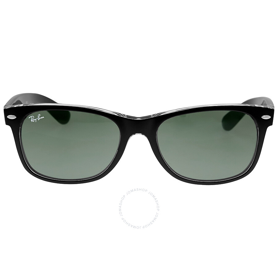 Sunglasses Wayfarer  ray ban new wayfarer green classic g 15 sunglasses rb2132 6052 55