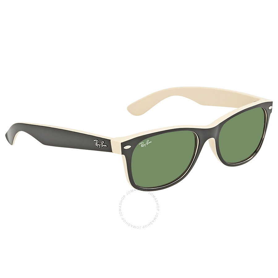 ce968893358 Ray Ban New Wayfarer Green Gradient Lens 55mm Men s Sunglasses RB2132-55-875  ...