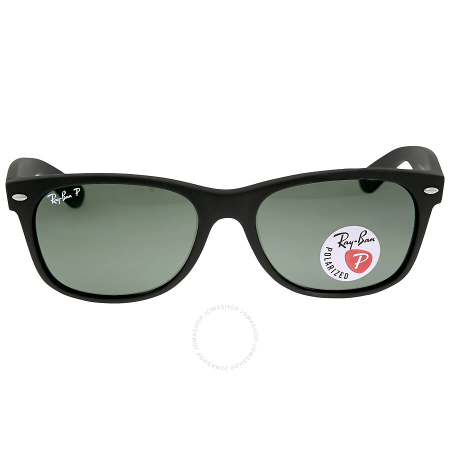a3d8d3c6d Ray Ban New Wayfarer Green Polarized Sunglasses RB2132 622/58 55-18 Item  No. RB2132 622/58 55-18