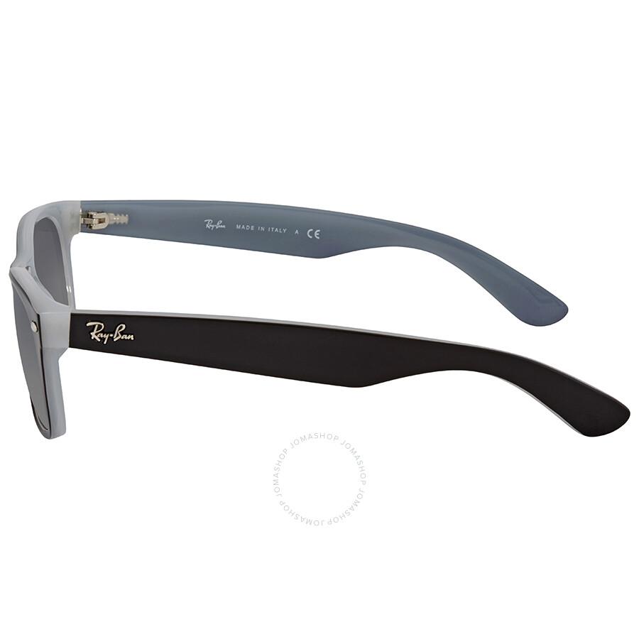 823ee271b3f ... Ray Ban New Wayfarer Grey Gradient Square Men s Sunglasses RB2132 630971  52