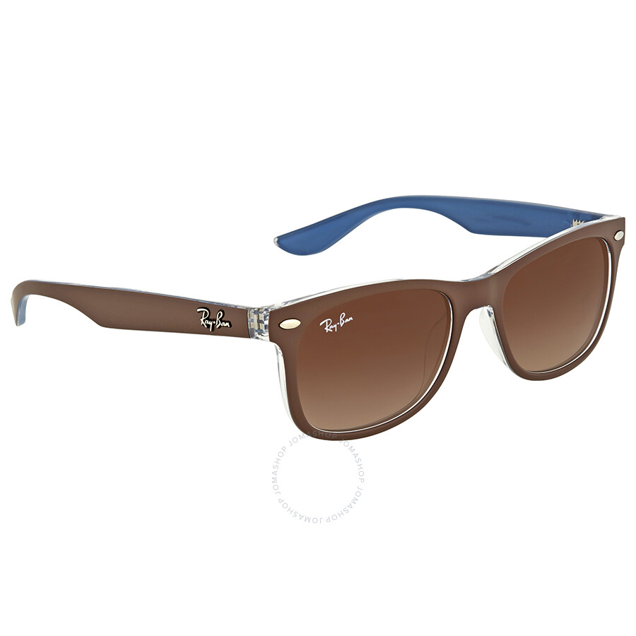 ... Ray Ban New Wayfarer Junior Brown Gradient Sunglasses ...