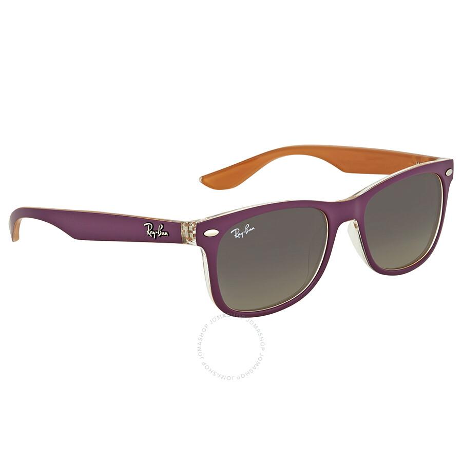 de15c94b7326 Ray Ban New Wayfarer Junior Grey Gradient Sunglasses - Wayfarer ...