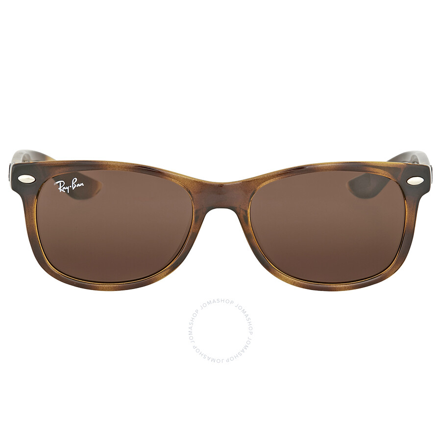 da1f0fe76037 Ray Ban New Wayfarer Junior Tortoise Sunglasses Item No. RJ9052S 152 73 47