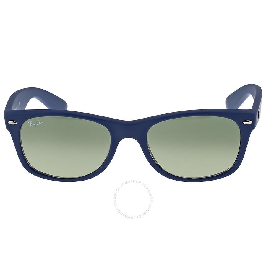 6f9bc321308b6 ... sale ray ban new wayfarer light blue plastic 52mm sunglasses rb2132  81132 48c8f 23c07