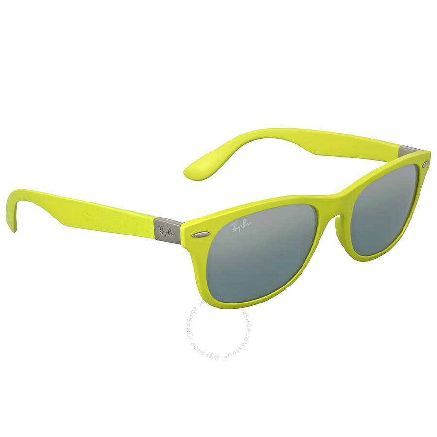 80c54b3d55 Ray Ban New Wayfarer Liteforce Green Sunglasses - Wayfarer - Ray-Ban ...