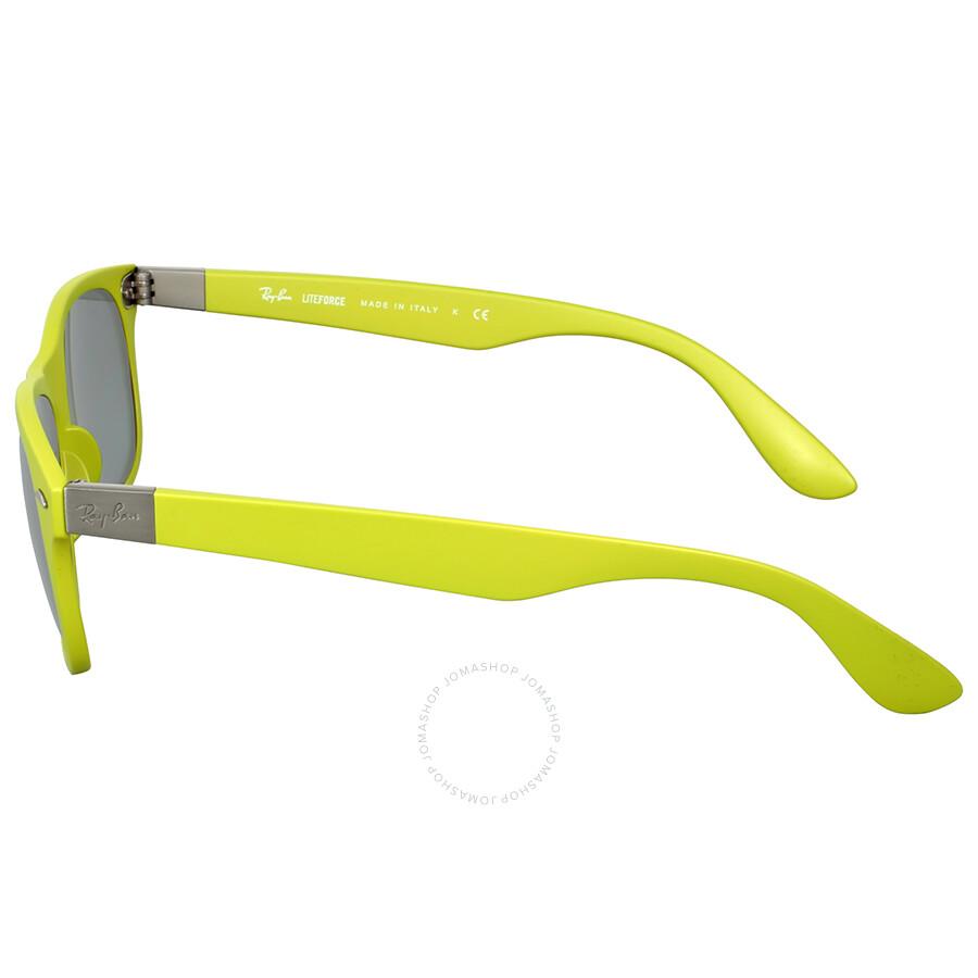 7f3949b1b3c Ray Ban New Wayfarer Liteforce Green Sunglasses - Wayfarer - Ray-Ban ...