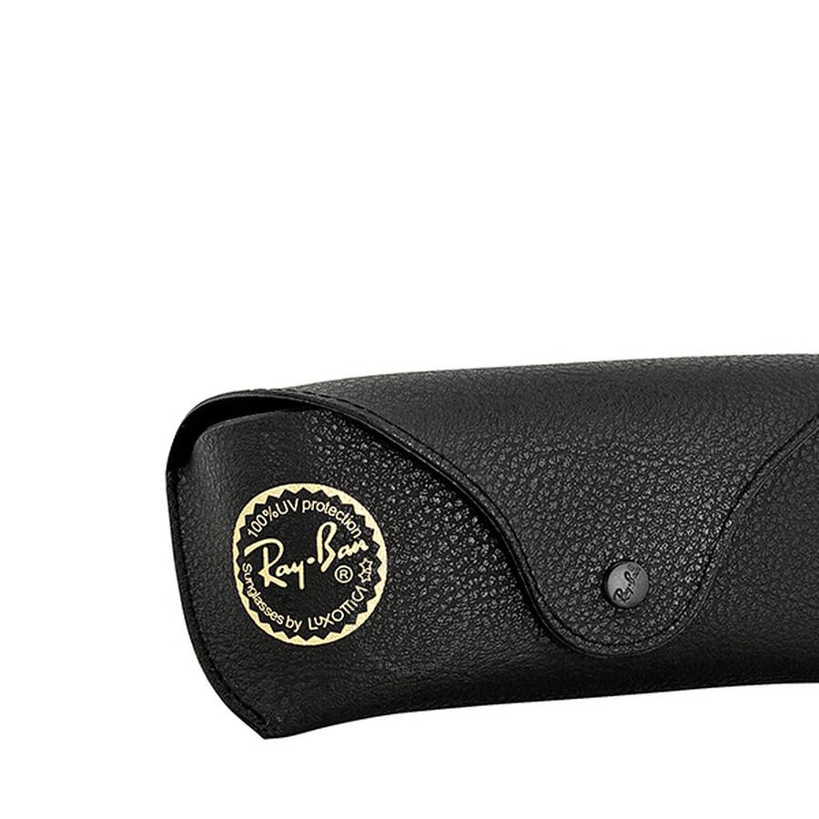 3cb4e35f1de ... Ray-Ban New Wayfarer Polarized Black Green 52mm Sunglasses RB2132  901 58 52