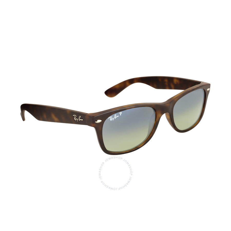 ray ban new wayfarer polarized blue green gradrient sunglasses rb2132 894 76 52 18 wayfarer. Black Bedroom Furniture Sets. Home Design Ideas