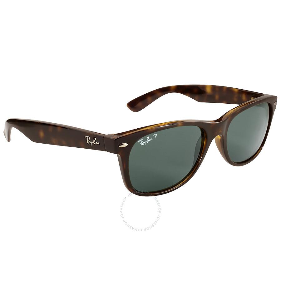 ray ban new wayfarer polarized green sunglasses rb2132 902. Black Bedroom Furniture Sets. Home Design Ideas