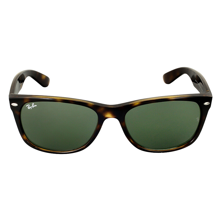ray ban 902  Ray-Ban New Wayfarer Tortoise/Green 52mm Sunglasses RB2132 902 52 ...