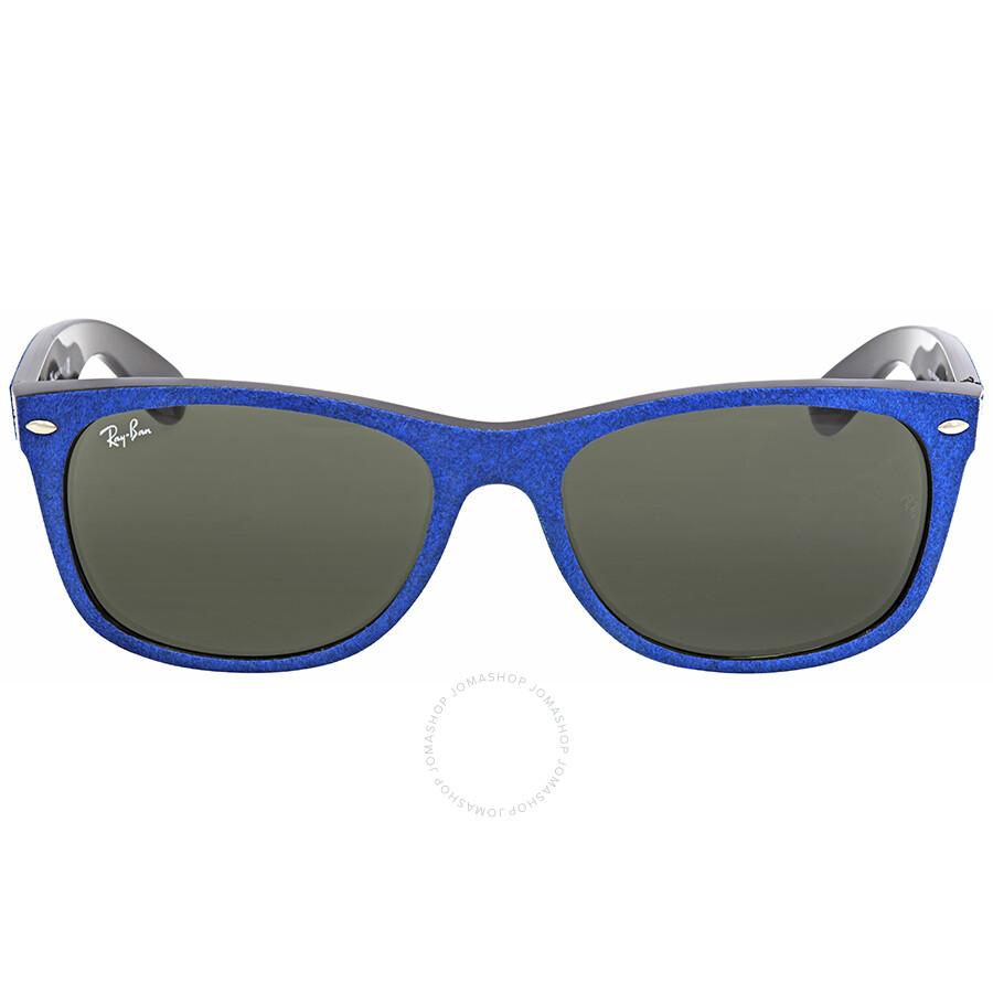 ff2a8320a2c Ray Ban New Wayfarer With Alcantara Green Classic G-15 Wayfarer Sunglasses  RB2132 6239 58 ...