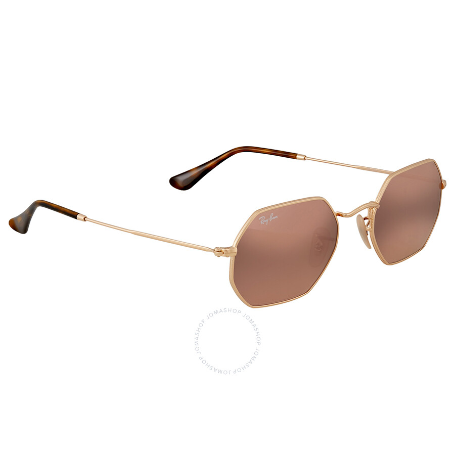 cc9241348a Ray Ban Octagonal Copper Flash Metal Sunglasses - Ray-Ban ...