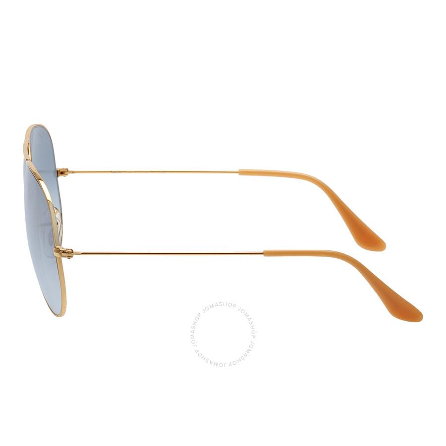 177f1d291cef ... Ray Ban Original Aviator Blue Gradient Sunglasses RB3025 001/3F 62 ...
