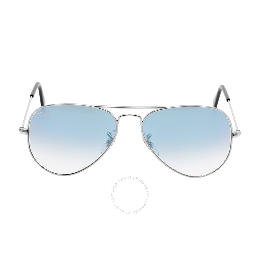 9535ef04987 Ray Ban Original Aviator Blue Gradient Sunglasses RB3025-0033F-55 Item No. RB3025  003 3F 55