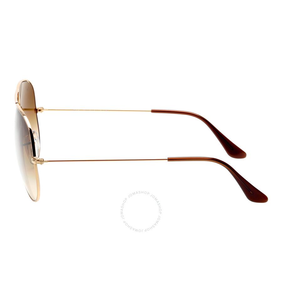 91c7a319c7a ... Ray Ban Original Aviator Brown Gradient Sunglasses RB3025 001 51 62-14  ...