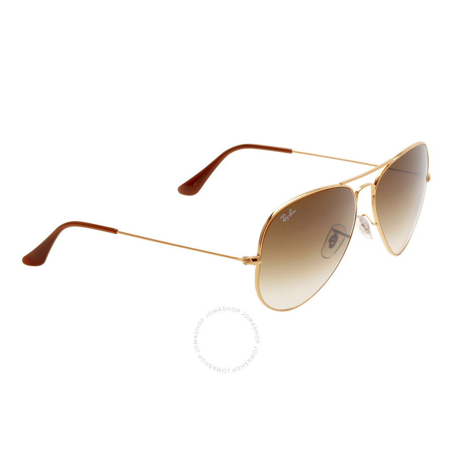 f6446ff5f5bb1 ... Ray Ban Original Aviator Brown Gradient Sunglasses RB3025 001 51 62-14