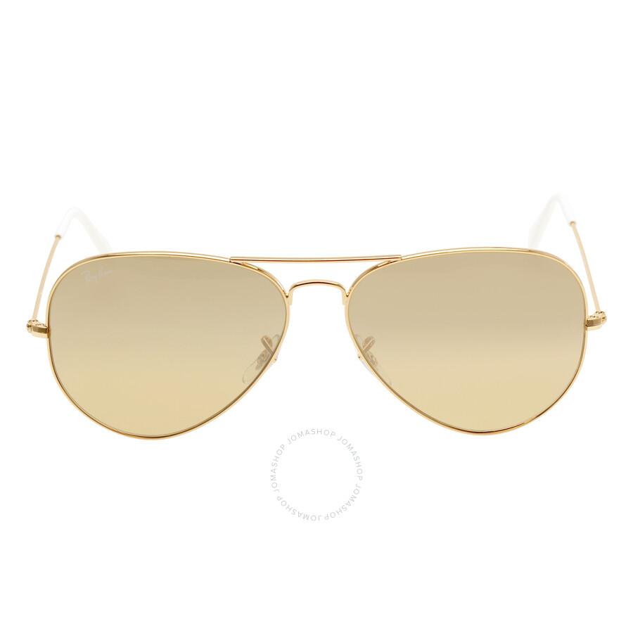 mirrored aviator sunglasses  aviator flash
