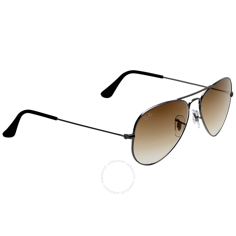 da7b2cb4981 Ray Ban Original Aviator Brown Gradient Sunglasses RB3025-00451-55 ...
