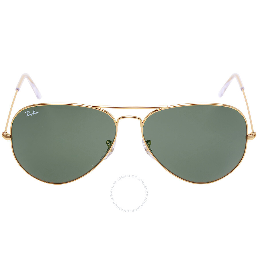 ray ban rb3025 iconic black glass  ray ban original aviator green classic g 15 sunglasses rb3025 001 62
